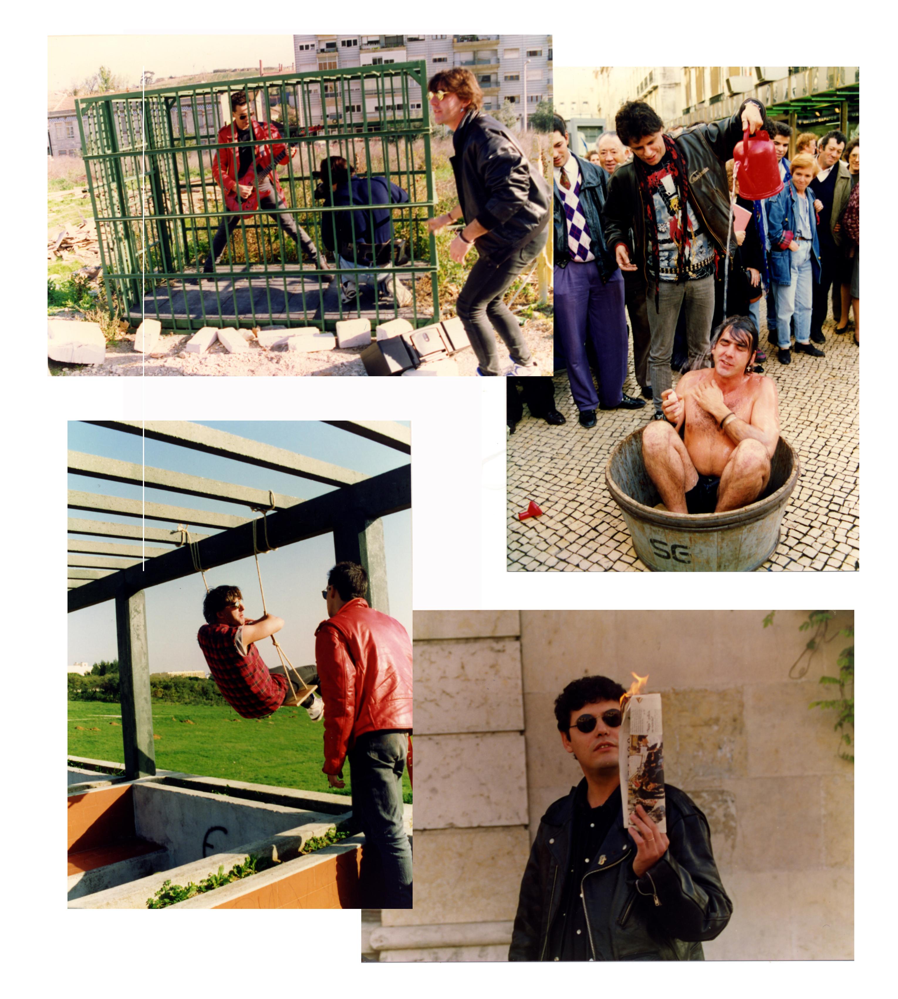 1992 gravação clip Chuva dissolvente 1