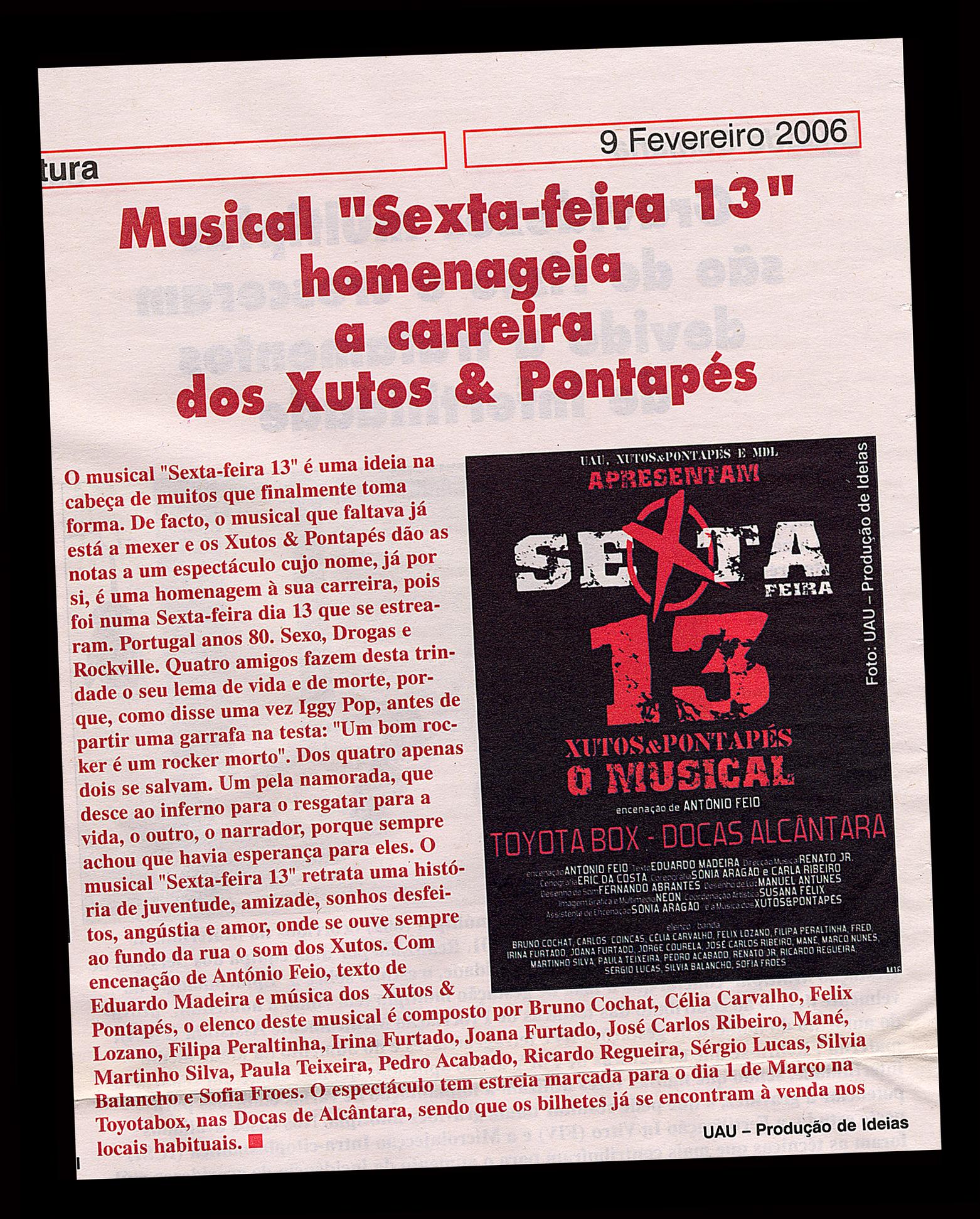 2006 Musical sexta-feira 13